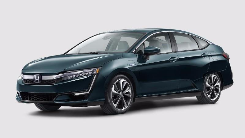 2018 Honda Clarity Plug-In Hybrid in Moonlit Forest Pearl