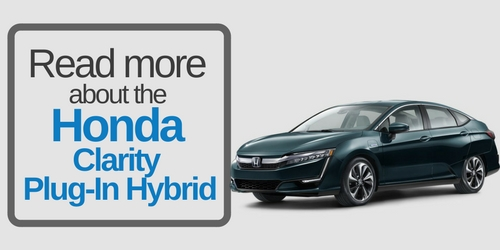 Button that says read more about the Honda Clarity Plug-In Hybrid