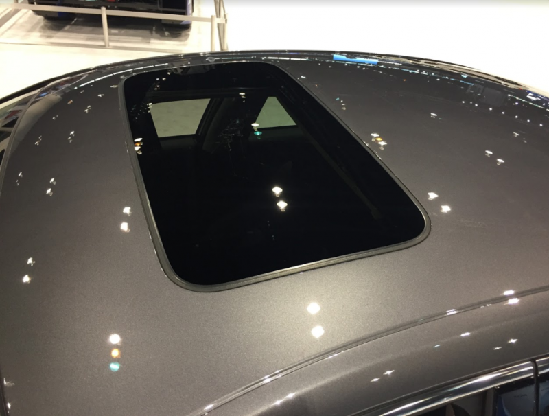 moonroof of the 2018 Honda Accord at the Chicago Auto Show