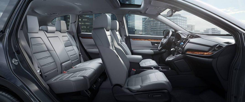 interior space inside the 2018 Honda CR-V