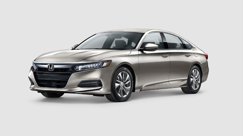 2018 Honda Accord Champagne Frost Pearl