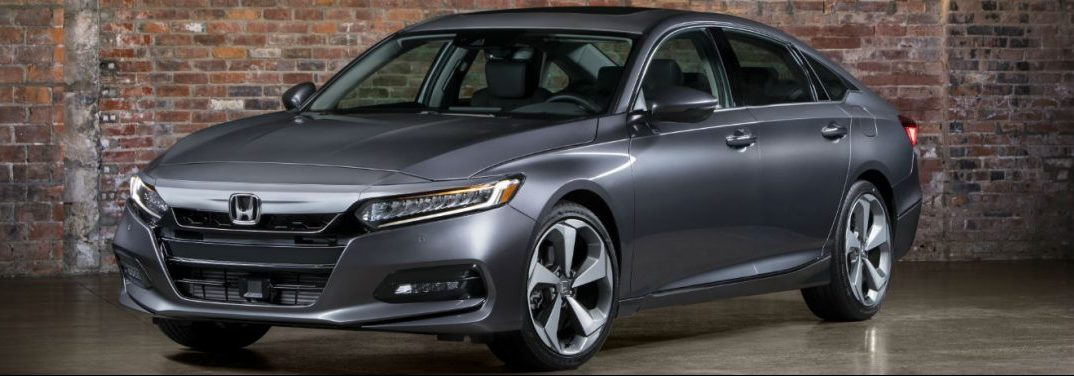 Full View Of The 2018 Honda Accord