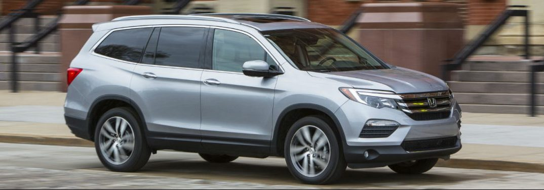 full view of the 2018 Honda Pilot