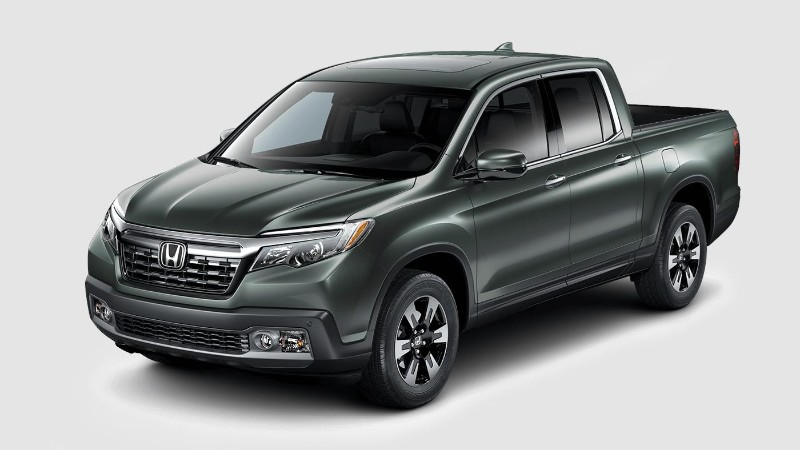 2018 Honda Ridgeline in Forest Mist Metallic