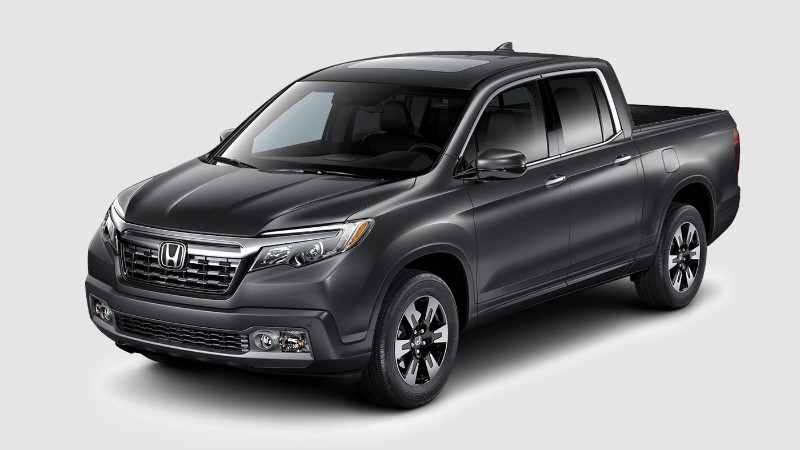 2018 Honda Ridgeline in Modern Steel Metallic