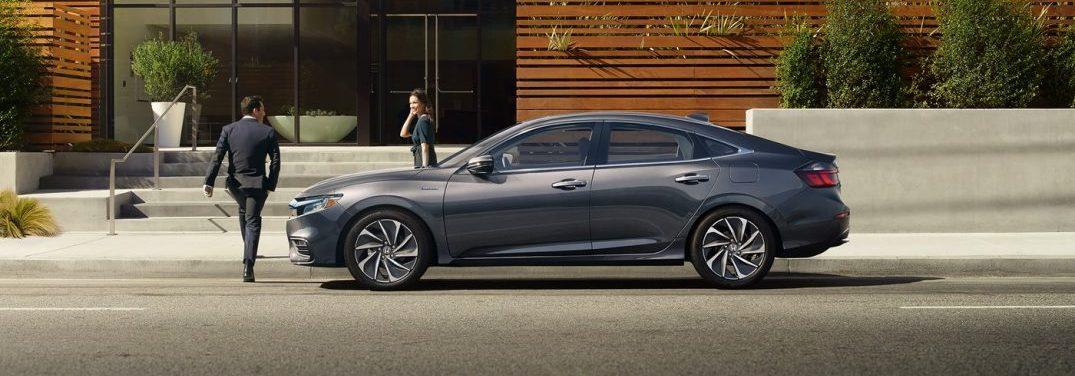 profile view of the 2018 Honda Insight
