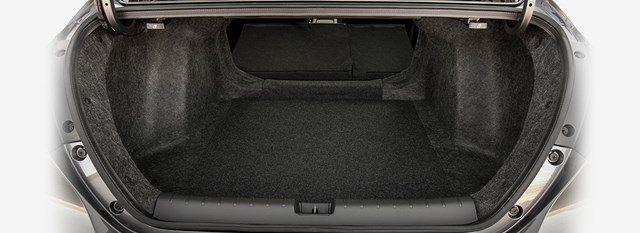 interior trunk space inside the 2019 Honda Insight
