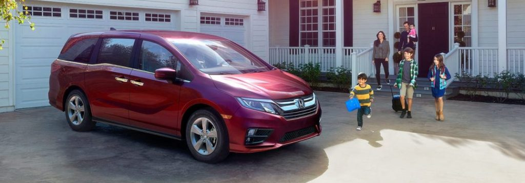 What colors does the new 2019 Honda Odyssey come in?