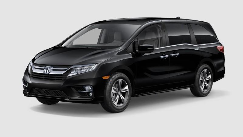 2019 Honda Odyssey Crystal Black Pearl