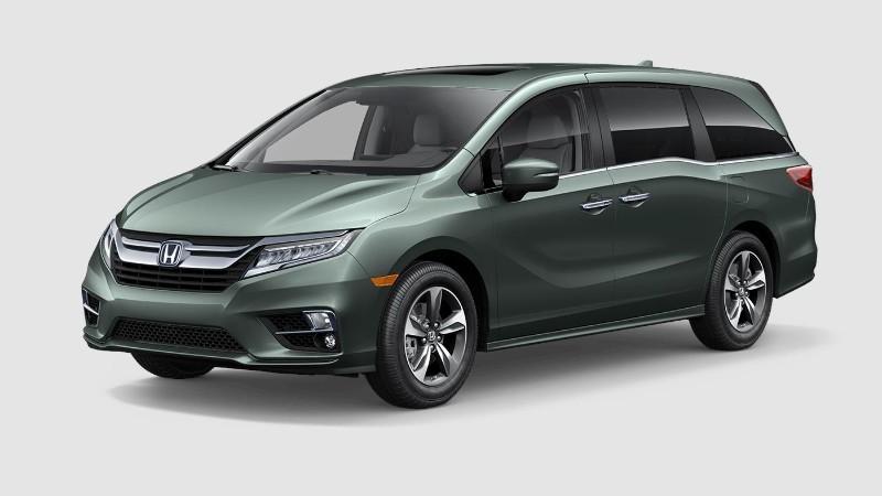 2019 Honda Odyssey Forest Mist Metallic