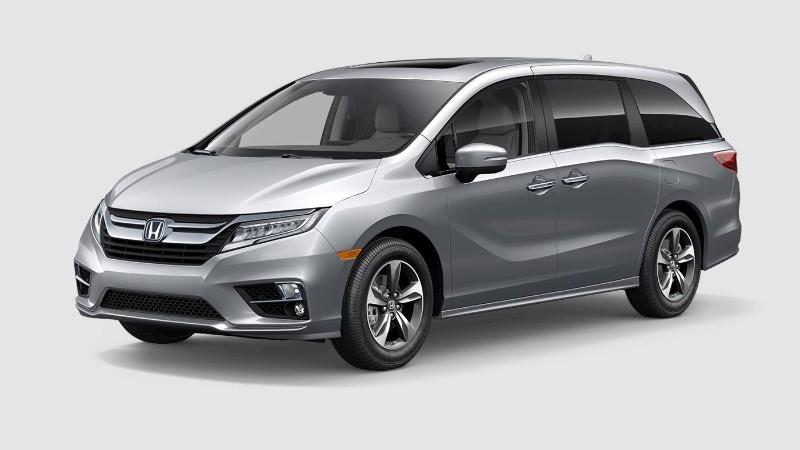 2019 Honda Odyssey Lunar Silver Metallic