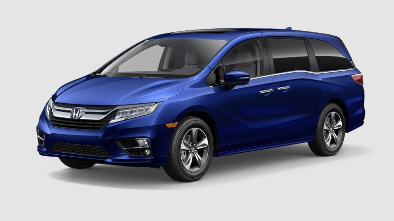 What colors does the new 2019 honda odyssey come in for 2019 honda odyssey