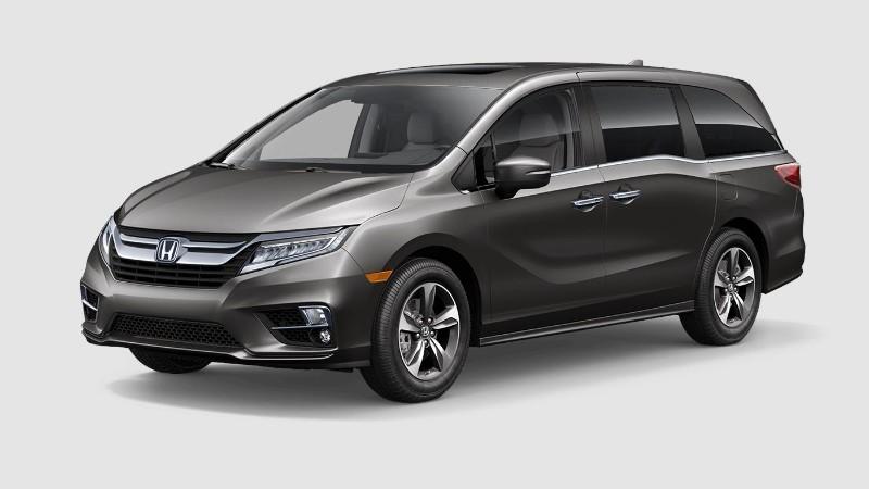 2019 Honda Odyssey Pacific Pewter Metallic
