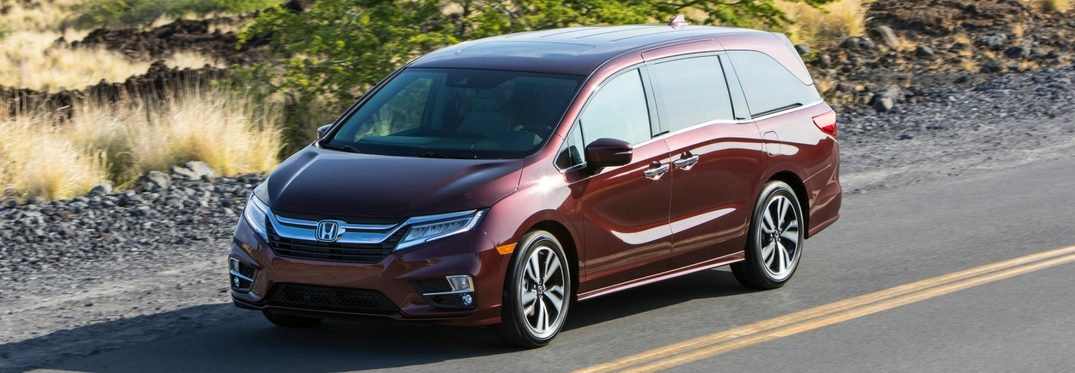 full view of the 2019 Honda Odyssey