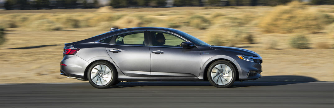 2019 Honda Insight Exterior Passenger Side Profile in Motion