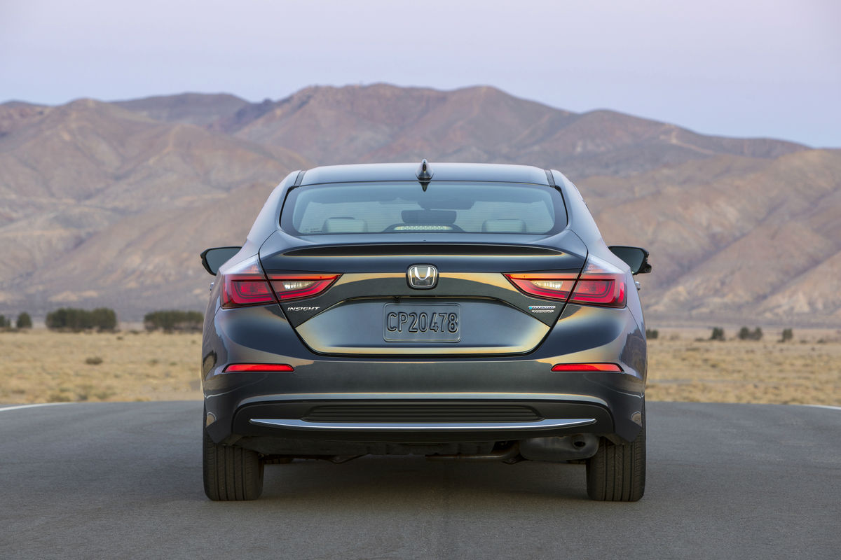 2019 Honda Insight Exterior Rear Fascia