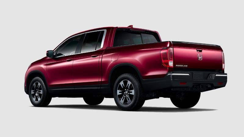 2019 Honda Ridgeline Deep Scarlet Pearl