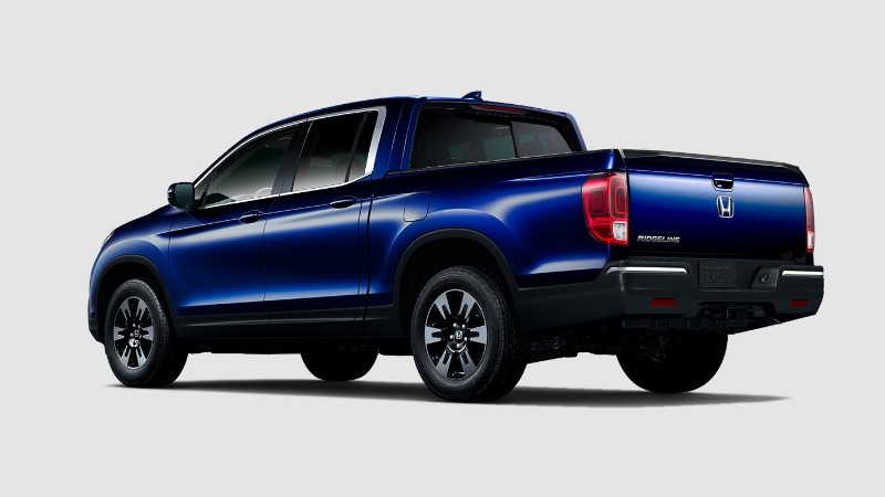 2019 Honda Ridgeline Obsidian Blue Pearl