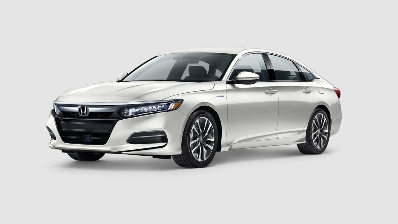 What paint colors does the 2018 Honda Accord Hybrid come in?