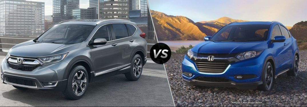 2018 honda cr-v vs 2018 honda hr-v