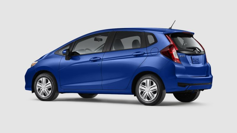 2019 Honda Fit Aegean Blue Metallic