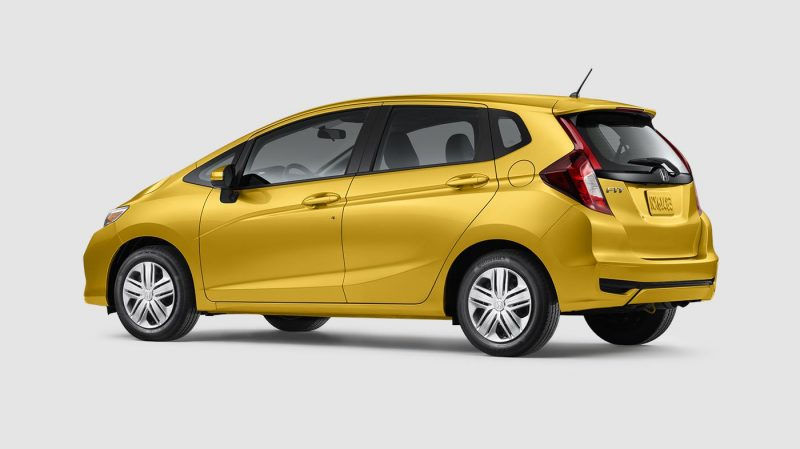 What colors does the new 2019 Honda Fit come in?