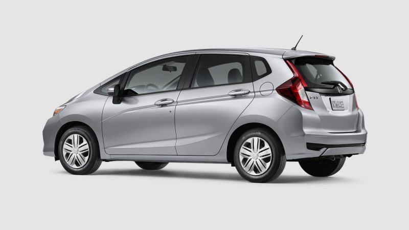 2019 Honda Fit Lunar Silver Metallic