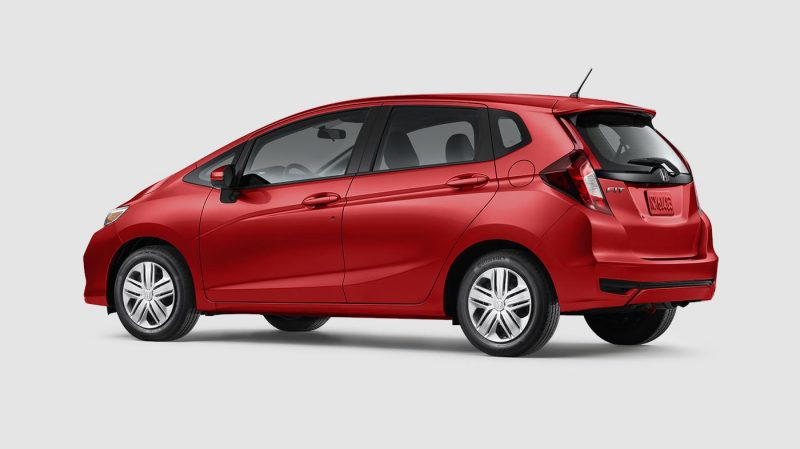 2019 Honda Fit Milano Red