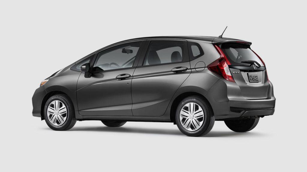 2019 Honda Fit Modern Steel Metallic O Continental Honda