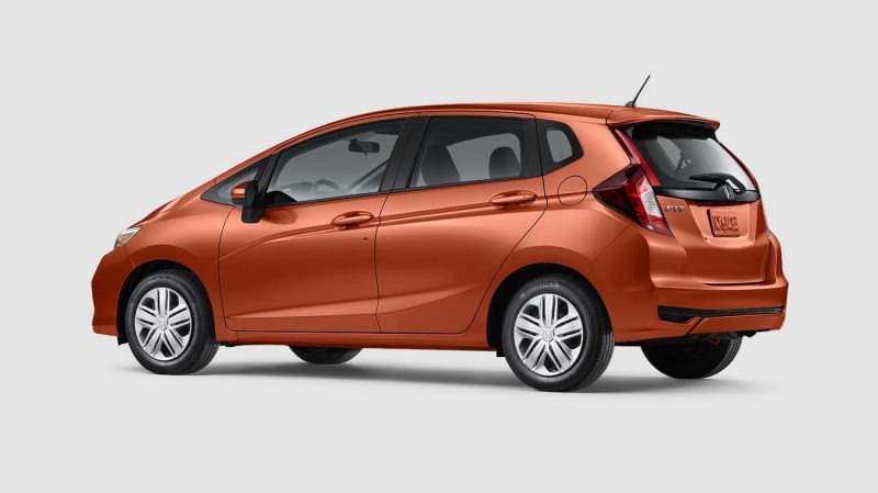 2019 Honda Fit Orange Fury