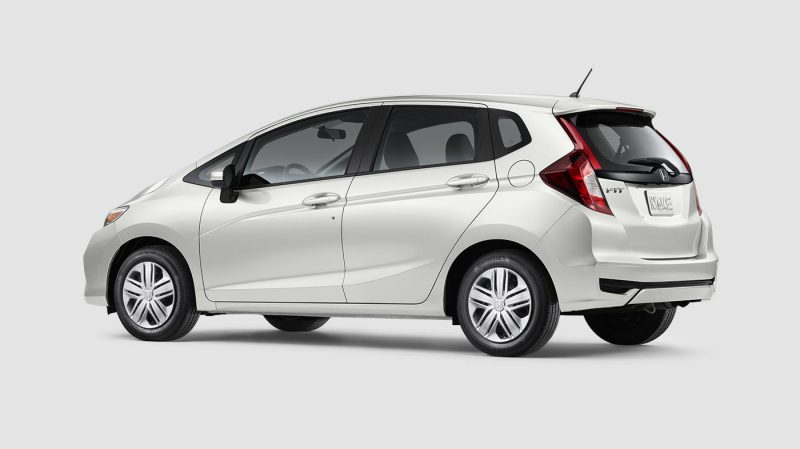 2019 Honda Fit Platinum White Pearl