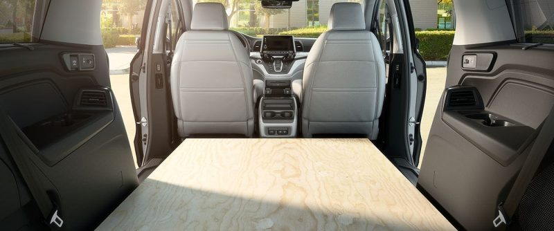 Honda Crv Cargo Space >> How much space is there inside the 2019 Honda Odyssey?