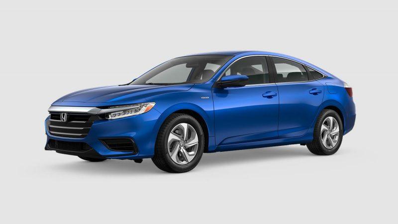 2019 Honda Insight Aegean Blue Metallic