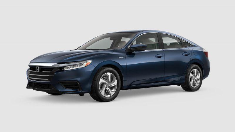 2019 Honda Insight Cosmic Blue Metallic