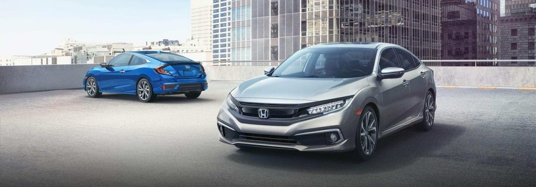 new 2019 Honda Civic models