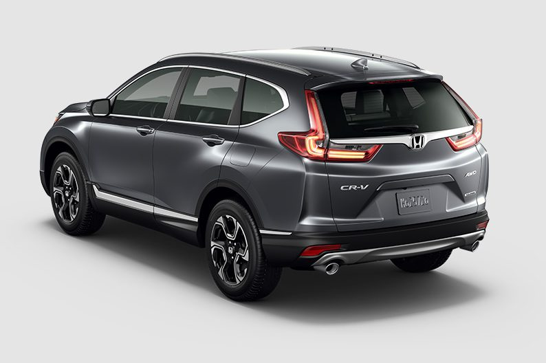 exterior rear of the 2018 Honda CR-V