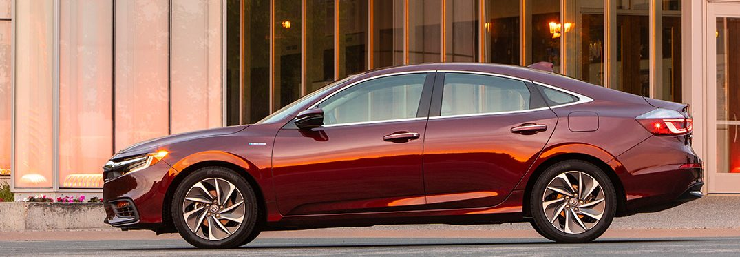 profile of the 2019 Honda Insight