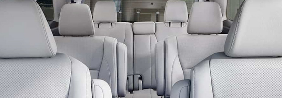 honda pilot interior seating space