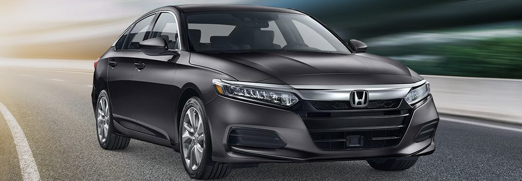 exterior front of the 2019 Honda Accord Sedan