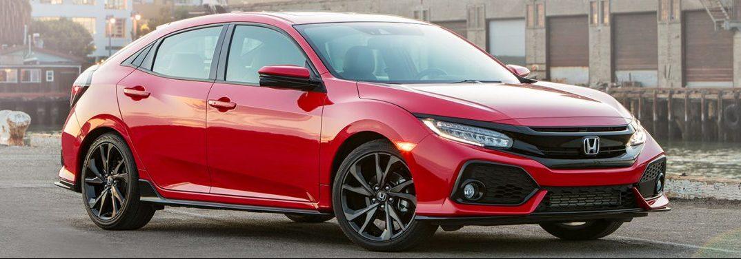 2019 Honda Civic Hatchback Passenger and Cargo Space