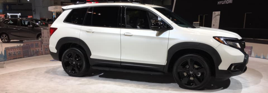 The 2019 Honda Passports makes its debut at the Chicago Auto Show