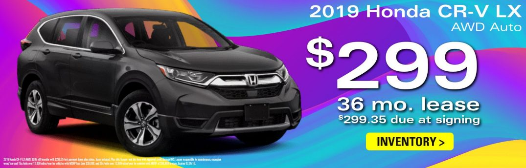 cr-v leasing opportunities in june continental honda