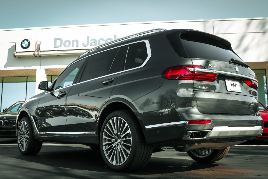 2019 BMW X7 - Rear Don Jacobs BMW