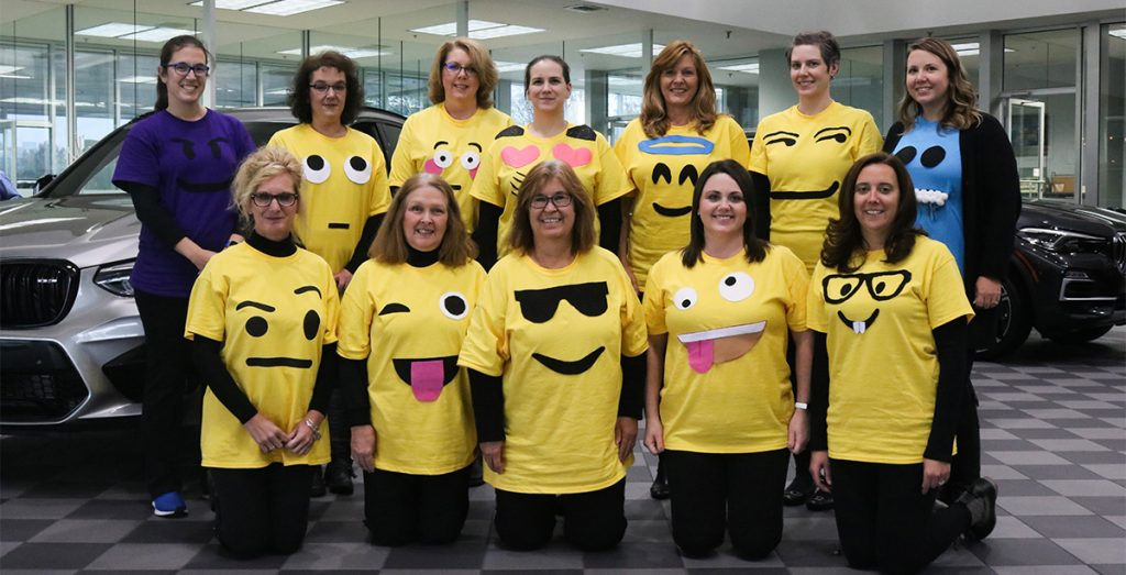 Don Jacobs Employee Costumes Emojis