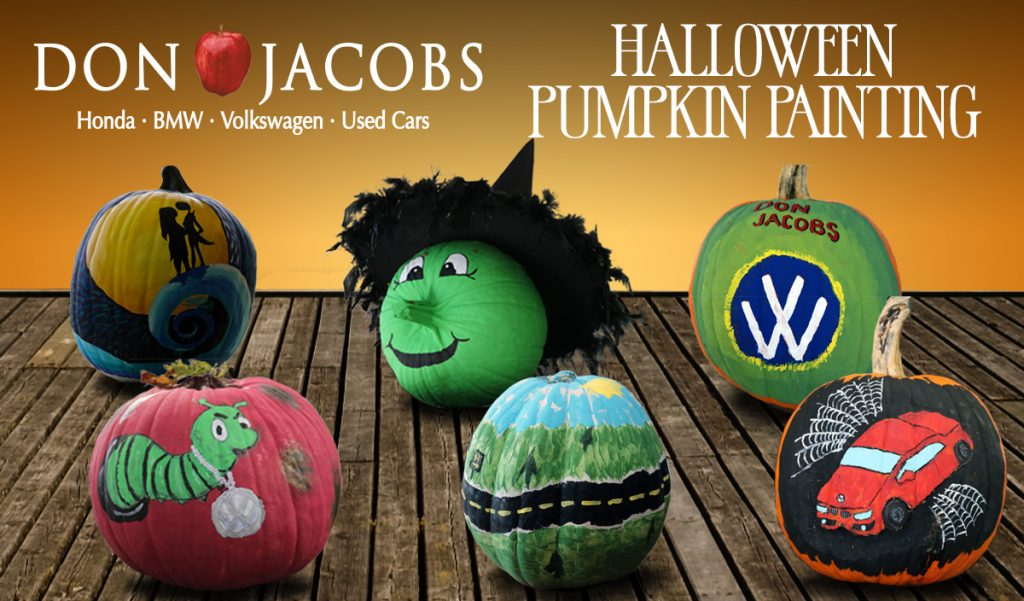 Don Jacobs Painted Pumpkins