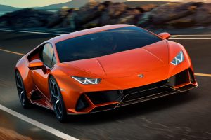 The New Lamborghini Huracan EVO