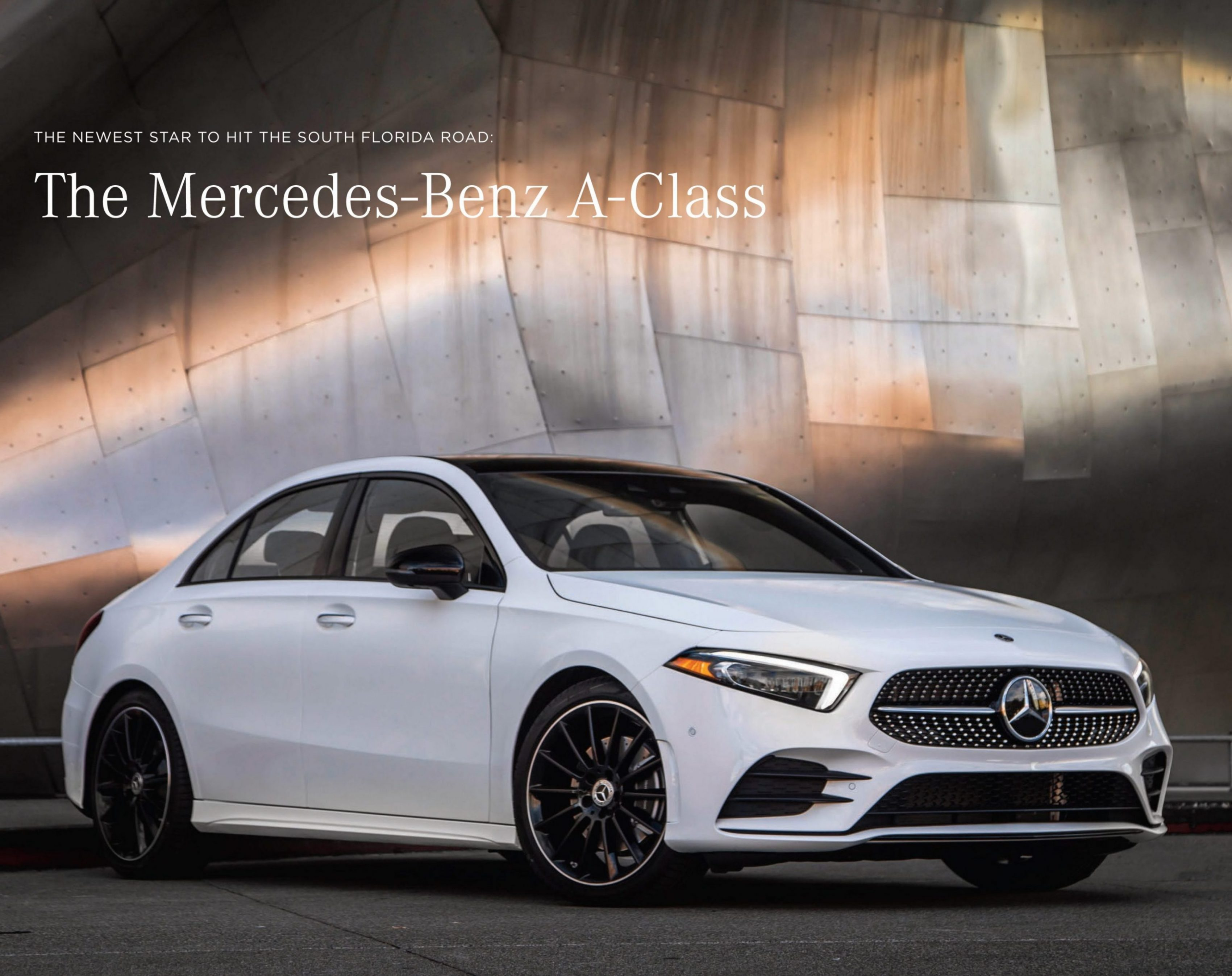 1e71e40096f Mercedes-Benz is excited to bring to the market the all-new 2019  Mercedes-Benz A-Class Sedan.
