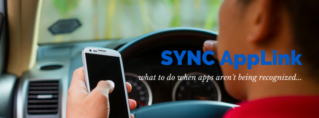 Why Won't Apps Work on Ford SYNC AppLink?