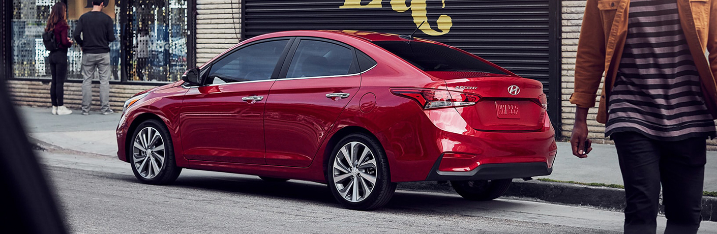 hyundai accent side view