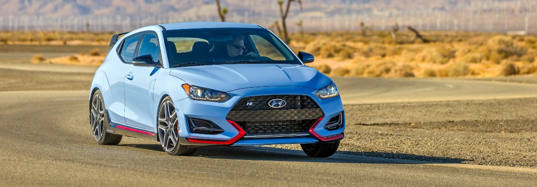 2021 Hyundai Veloster N front view